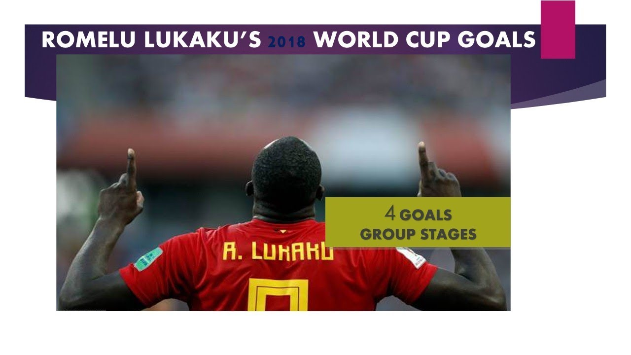 ROMELU LUKAKU'S 2018 WORLD CUP GOALS