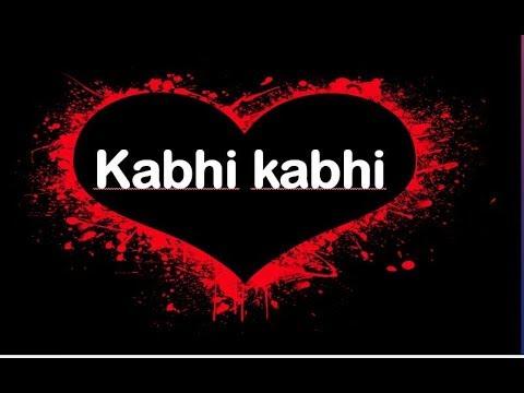 kabhi kabhi mere dil mein|Hindi kavita|urdu kavita|hindi poetry|urdu poetry|poem|Hindi spoken word.