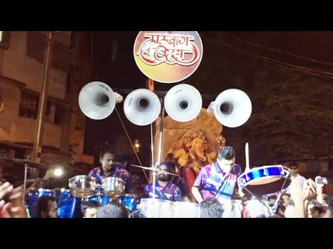 Lalbaug Beats at Dombivli for Ganpati Aagman Sohala 2016 - Lalbaug Beats Banjo Party