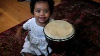 Download Nora Mehadi plays drum MP3 song and Music Video