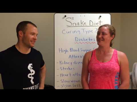SNAKE DIET: Curing Type 2 Diabetes.