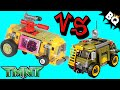 LEGO Ninja Turtles TMNT Turtle Van Comparison Cartoon VS Movie - BrickQueen