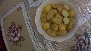 Картофель.  Секрет запекания картофеля.