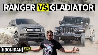 homepage tile video photo for 2020 Truck Showdown: Gladiator vs Ranger at Jeremy McGrath's Ranch! (without Jeremy McGrath)