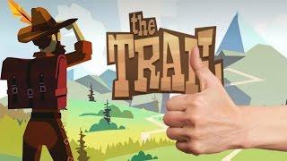 The Trail | Первый взгляд (обзор игры на Android / iOs) KONGREGATE