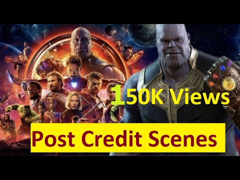 All Marvel Movies Post Credit Scene Compilation | MCU Post Credit Scenes Collection |