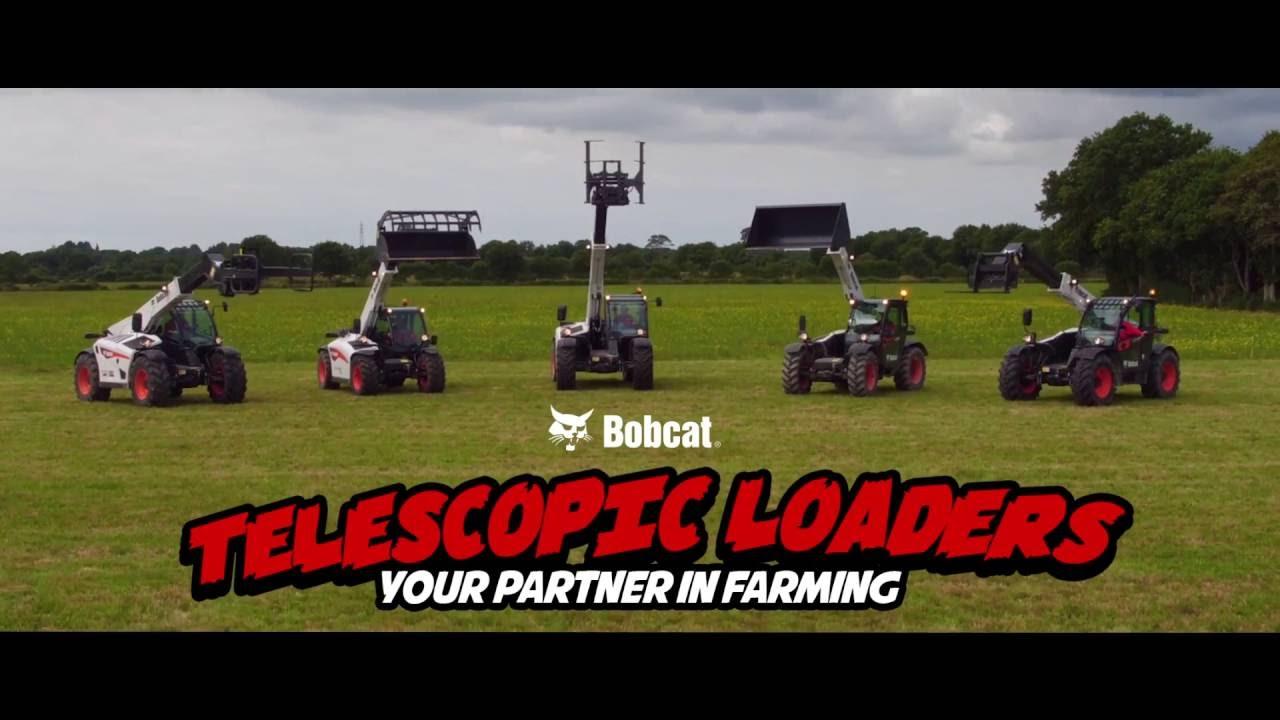 Telescopic Loaders in Agriculture EN | Bobcat Equipment