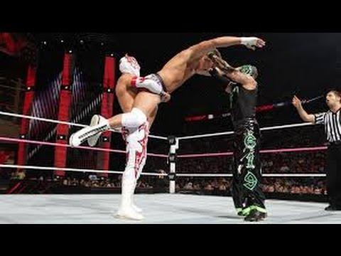 Sin Cara(Mistico) & Rey Mysterio Vs. Tag Team Match