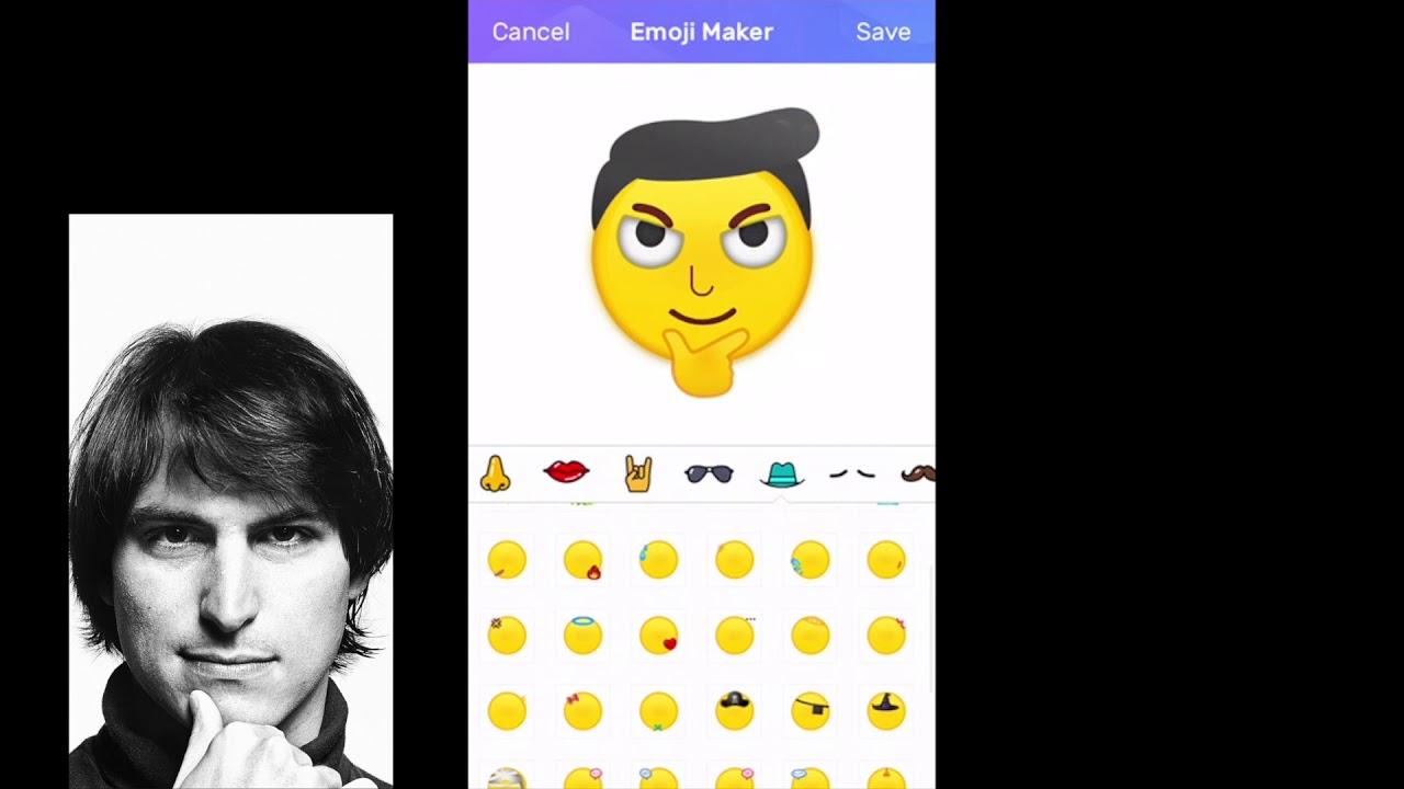 Emoji Maker - Steve Jobs | Create Your Own Emoji!!