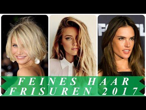 Trendfrisuren Fur Feine Haare 2017 Frauen Youtube