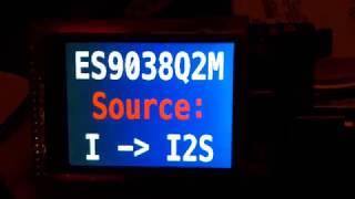 ES9038Q2M - Arduino - 320x240TFTLCD - UTFT - GroteskBold32x64