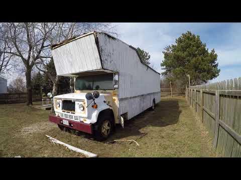 1988 GMC 6000 Carpenter School Bus Conversion Tour