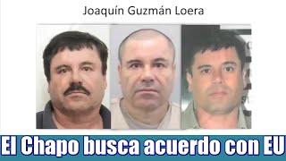 El Chapo quiere negociar su extradición con EU