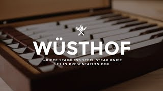 Wusthof 8 Piece Steak Knife Set | Product Roundup by All Things Barbecue