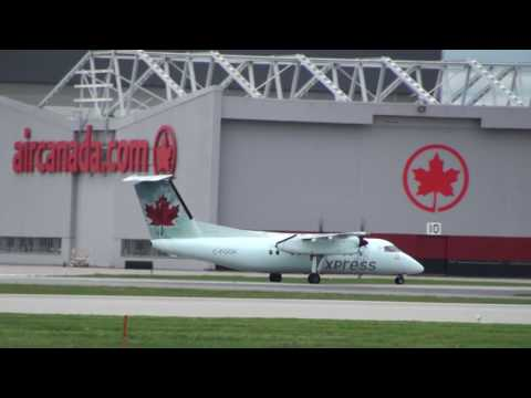 MEGA COMPILATION - HAPPY TURBOPROP TUESDAY!!! #12 2016-05-10 Plane Spotting YUL | CYUL Montreal