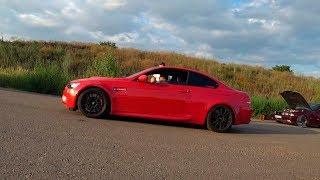 BMW 335xi stage2 Потрепал нервы AUDi RS Q3 и Mustang 2.3 turbo stage2