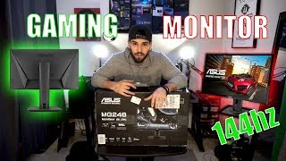 Asus MG248Q - Best Affordable 144hz Gaming Monitor (Now Supports G-Sync 2019)