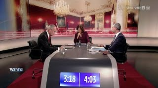 Norbert Hofer vs. Alexander Van der Bellen - Das Duell (ORF) - 1.12.2016