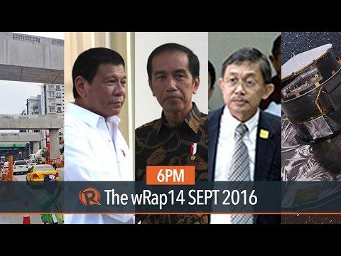 Jokowi on Mary Jane, war on drugs, Milky Way | 6PM wRap