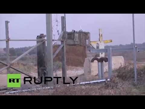 State of Palestine: Clashes erupt in Gaza as protesters storm IDF-controlled territory