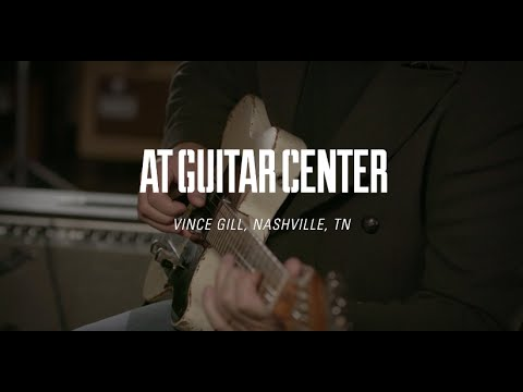 Vince Gill At Guitar Center