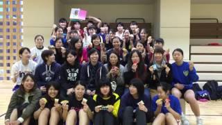 桐蔭横浜大学女子ハンドボール部 2016インカレ前