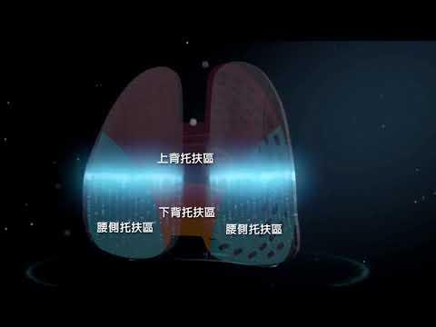 【現貨!台灣寄出 實拍+用給你看】6D氣壓避震背墊【贈送透氣網布】腰靠 靠背 背墊 護腰 車靠墊  辦公靠墊