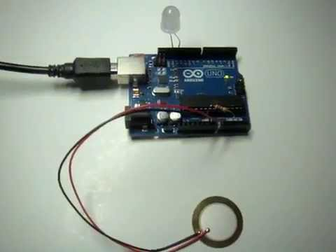 Watch on arduino voltage sensor