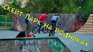 Восстановление скейт-парка на Родниках (Новосибирск)
