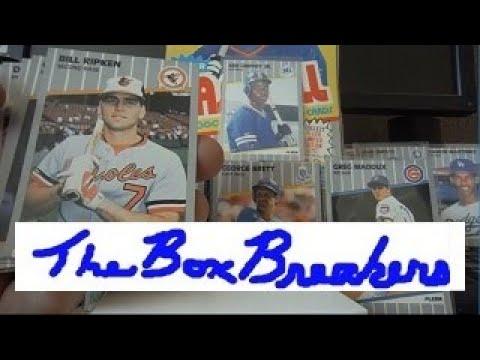 1989 Fleer Baseball Cards Billy Ripken Error Card Retro Wax Pack Hobby Box Opening Part 2