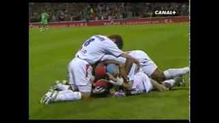 OLYMPIQUE LYONNAIS - ST-ETIENNE  4-0 Saison 2005-2006 Grand Format