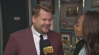 James Corden Jokes He's Responsible for Chris Pratt's Engagement