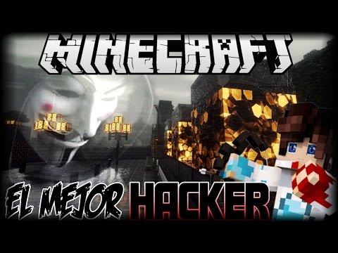 EL MEJOR HACKER MINECRAFT PE-! USANDO HACKS EN SG