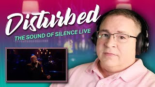 "Disturbed Reaction | ""The Sound Of Silence"" LIVE"