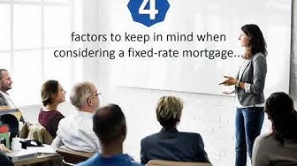Calgary Mortgage Broker reveals What you need to know about Fixed-Rate Mortgages…