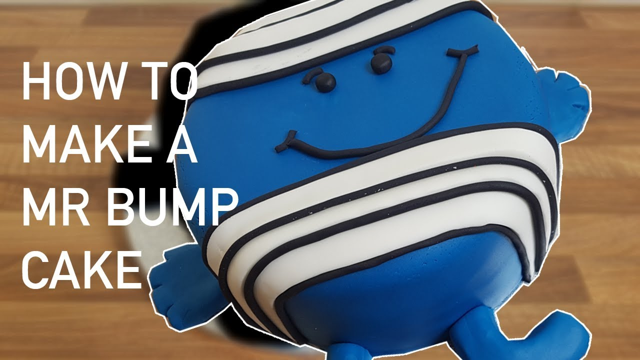 How To Make A Mr Bump Cake From Mr Men Cakes For Kids Youtube