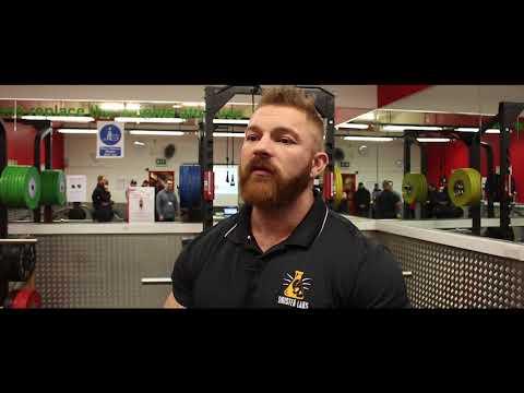 Body Builder Flex Lewis speaks to Salford Student