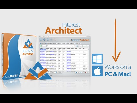 INTEREST ARCHITECT Facebook Interest Keyword Software