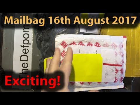 Mailbag 16th August 2017