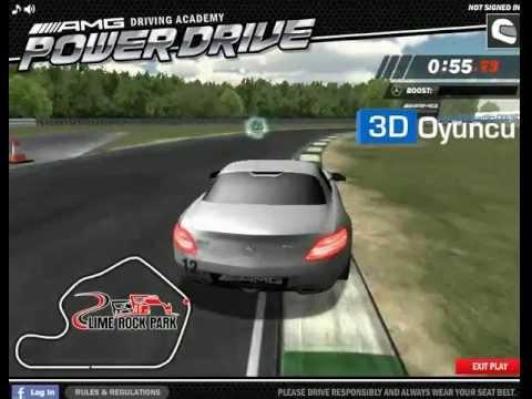3d mercedes amg - 3d araba oyunları - youtube