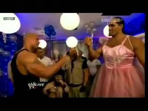 The Rock-s Birthday Party at Raw 5/2/2011 funny-est moment