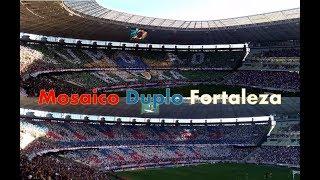 Mosaico duplo Fortaleza. Fortaleza x Sampaio Corrêa 02/06/18.