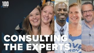 Consulting the Experts | 100 Days