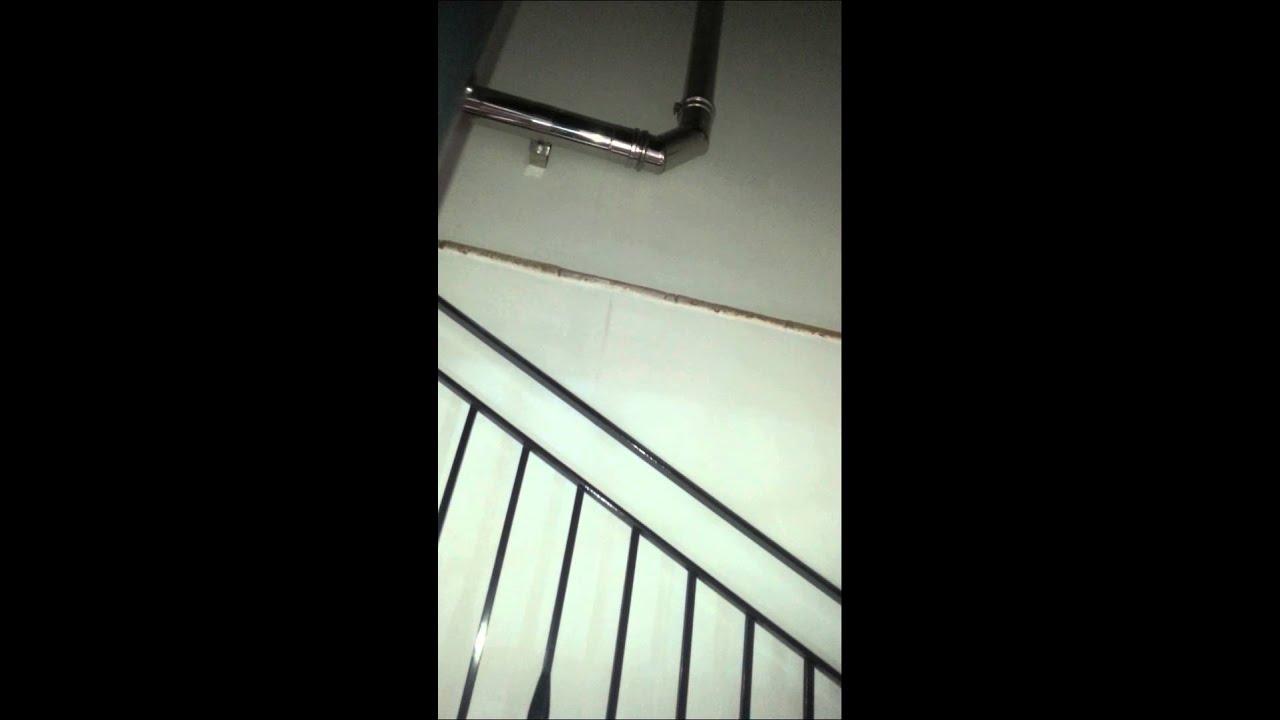 Stufa a pellet con canalizzazione youtube - Riscaldamento aria canalizzata ...