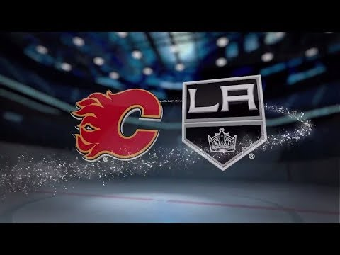 Calgary Flames vs Los Angeles Kings - October 11, 2017 | Game Highlights | NHL 2017/18. Обзор матча.