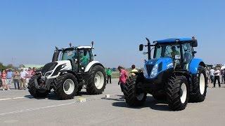 Utrka ubrzanja traktora / Tractor Drag Race