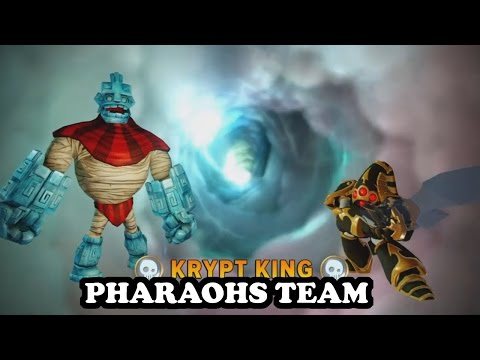 Skylanders Imaginators - Grave Clobber & Krypt King GAMEPLAY - PHARAOHS TEAM