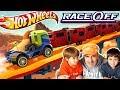 HOT WHEELS RACE OFF 🚒 PROBAMOS EL PRIMER CAMION RIG HEAT !! 🚌 Juegos Android para niños
