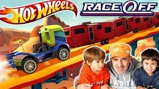 Hot Wheels Race Off Gameplay Walkthrough Part 6 Levels 17 20