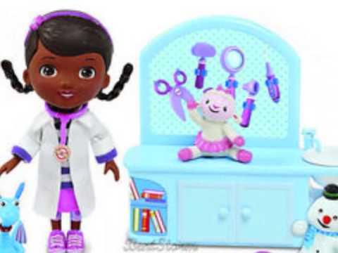 Doc mcstuffins docteur la peluche jouet youtube - Jouet doc la peluche ...